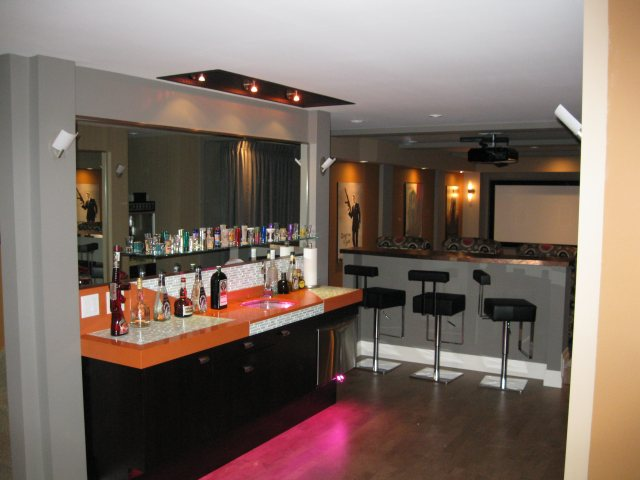 G & R Contracting Inc. - Entertainment Areas Renovations ...